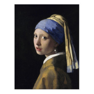 Girl with a Pearl Earring Post Cards