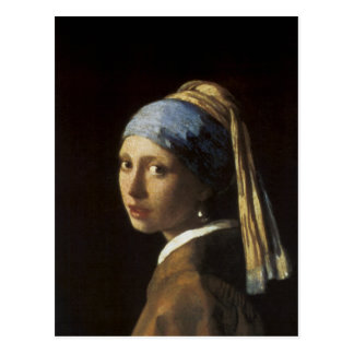 Girl with a Pearl Earring Postcards