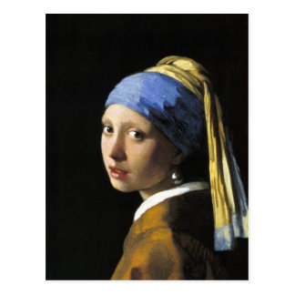 Girl With a Pearl Earring Post Card