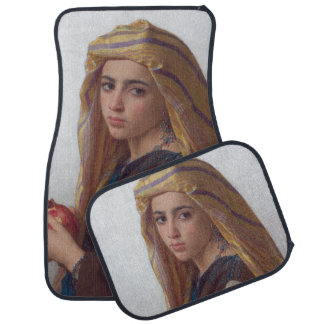 Girl With a Pomegranate by W.A. Bouguereau Car Mat