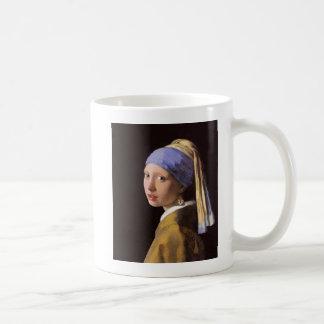 Girl with a Poop Earring Coffee Mug