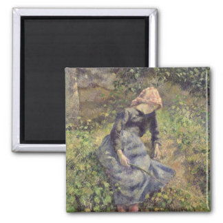 Girl with a Stick, 1881 Magnet