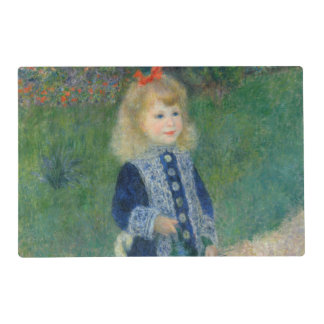 Girl with a Watering Can by Pierre-Auguste Renoir Placemat