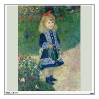 Girl with a Watering Can by Pierre-Auguste Renoir Wall Decal