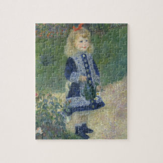 Girl with a Watering Can Renoir Puzzles