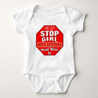 Girl With Attitude Baby Bodysuit