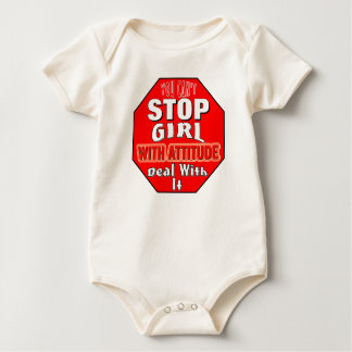 Girl With Attitude Baby Bodysuit