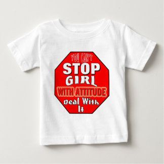 Girl With Attitude Baby T-Shirt
