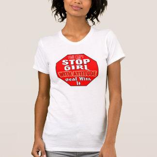 Girl With Attitude Tee Shirt