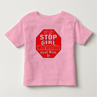 Girl With Attitude Toddler T-shirt