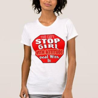 Girl With Attitude Tshirts