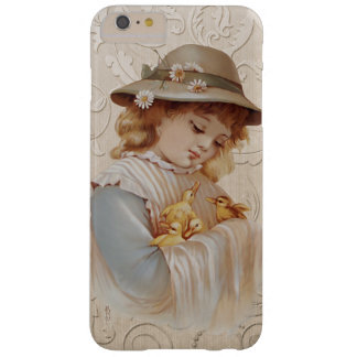 Girl with Baby Ducks Barely There iPhone 6 Plus Case