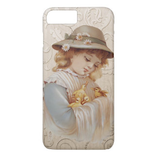 Girl with Baby Ducks iPhone 7 Plus Case