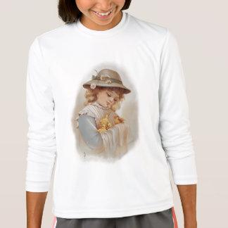Girl with Baby Ducks T-Shirt