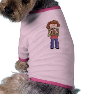 Girl With Backpack Pet Clothing