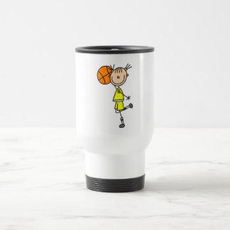 Girl With Basketball T-shirts and Gifts Travel Mug
