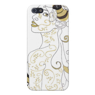 Girl with Bee's Cell Phone Case Case For iPhone 5