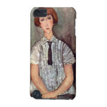 Girl with blouse by Amedeo Modigliani iPod Touch 5G Cases
