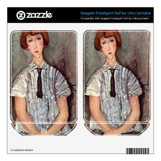 Girl with blouse by Amedeo Modigliani FreeAgent GoFlex Skins