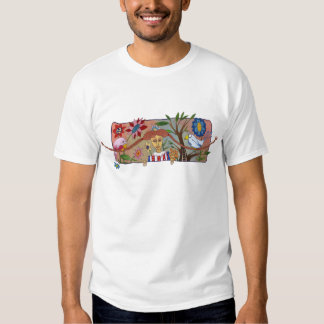 girl with braids t-shirt