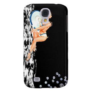 Girl with Diamonds  Galaxy S4 Case