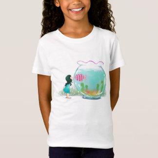 Girl with Fish Bowl Shirt