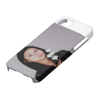 Girl with Flowers Iphone 5 Case