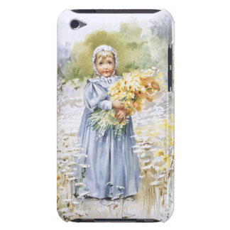 Girl with Flowers iPod Touch Covers
