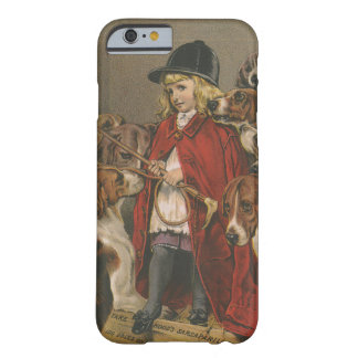 Girl with Foxhounds iPhone 6 Case
