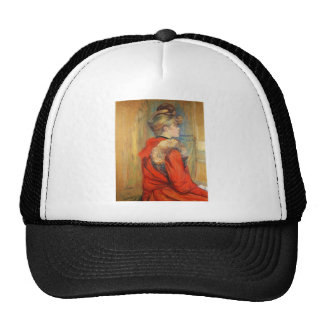 Girl with fur by Toulouse-Lautrec Trucker Hat