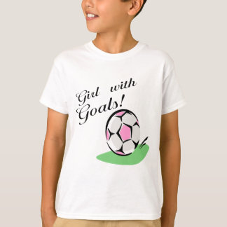 Girl With Goals T-shirts and Gifts.