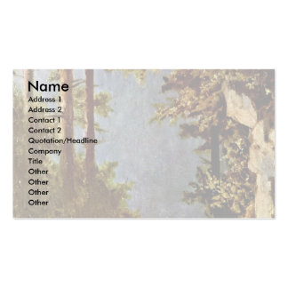 Girl With Goat By Spitzweg Carl Business Card Templates