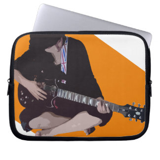 Girl with Guitar Computer Sleeve