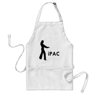 Girl With Gun iPac Adult Apron