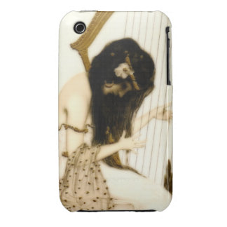 Girl with Harp Case-Mate iPhone 3 Case