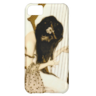 Girl with Harp iPhone 5C Covers