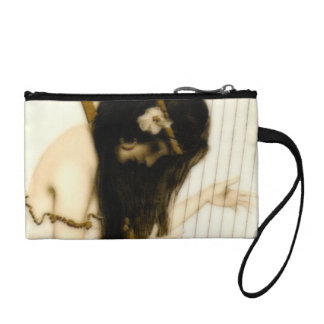 Girl with Harp Coin Purse