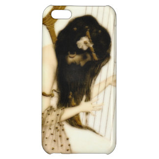 Girl with Harp Cover For iPhone 5C