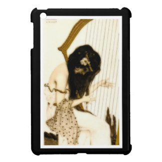 Girl with Harp Cover For The iPad Mini