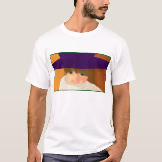 Girl with Hat T-Shirt