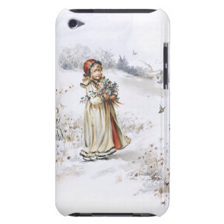 Girl with Holly Barely There iPod Covers