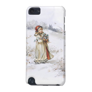 Girl with Holly iPod Touch (5th Generation) Covers