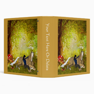 Girl With Horse Fantasy Forest Binder