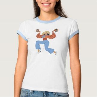 Girl with maracas shirt