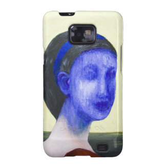 Girl with no face (surreal realism) galaxy SII case