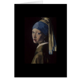 Girl with Pearl Earring Card