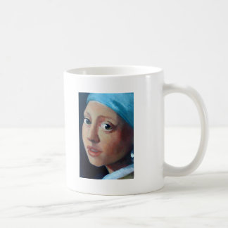 GIRL WITH PEARL EARRING COFFEE MUGS