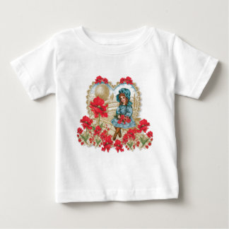 Girl with Poppies Infant T-shirt