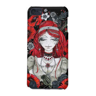 Girl with poppies iPod touch (5th generation) cover