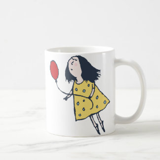 Girl with Red Balloon Mug